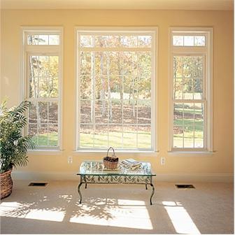 Living Room Windows Installation